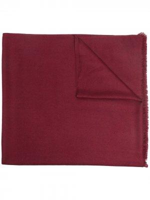 Кашемировая шаль N.Peal. Цвет: красный