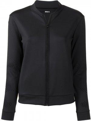 Приталенная куртка на молнии Ultracor. Цвет: черный
