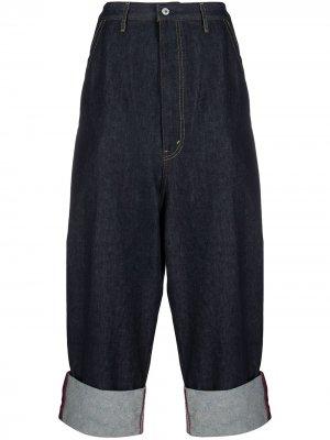 Широкие джинсы Junya Watanabe MAN. Цвет: синий
