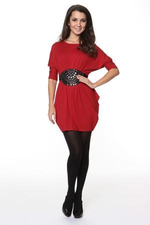 Платье-туника Piamente. Цвет: красный