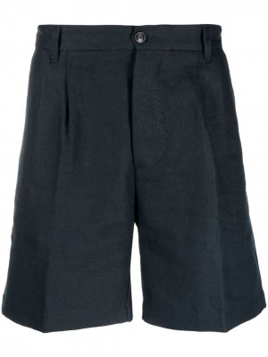 Пляжные шорты строгого кроя Fortela. Цвет: синий