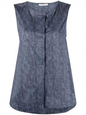 Блузка без рукавов Circolo 1901. Цвет: синий