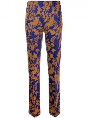 Трикотажные брюки прямого кроя Missoni. Цвет: золотистый