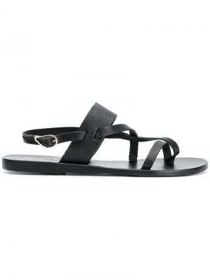 Сандалии Alethea Ancient Greek Sandals. Цвет: черный