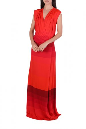 Платье Chapurin. Цвет: бордовый