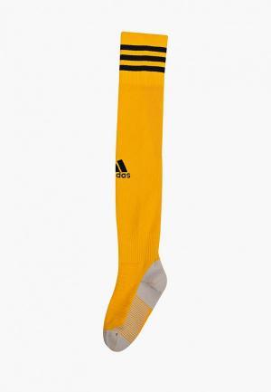 Гетры adidas. Цвет: желтый
