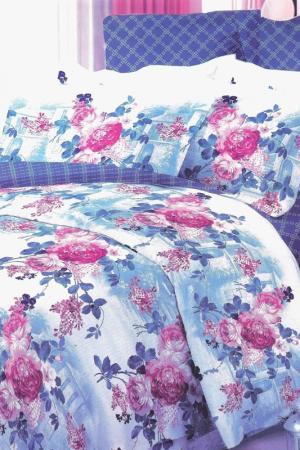 Постельное бельё 1,5 сп 70x70 BegAl. Цвет: голубой