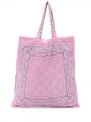Пляжная сумка Bandana Arizona Love. Цвет: розовый