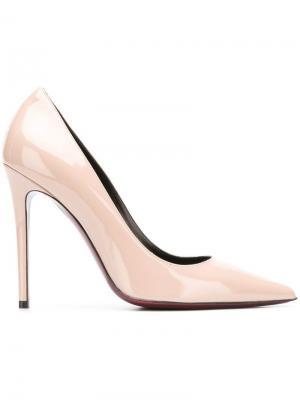 Туфли-лодочки с заостренным носком Deimille. Цвет: нейтральные цвета