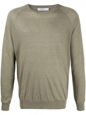 Пуловер с длинными рукавами Closed. Цвет: зеленый