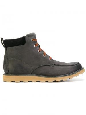 Ботинки Madson Moc Toe Sorel. Цвет: серый