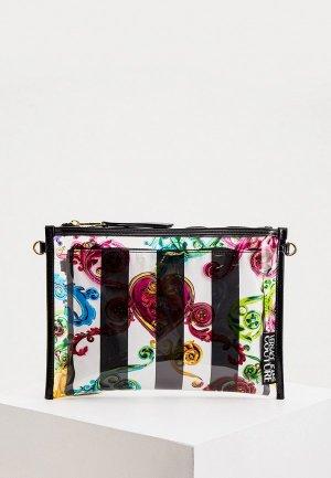 Комплект Versace Jeans Couture. Цвет: разноцветный