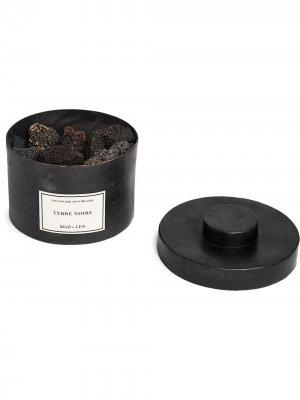 Парфюмированные камни лавы Terre Noir Pot Pourri DApothicaire Mad Et Len. Цвет: черный