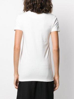 Набор из трех футболок Jil Sander. Цвет: белый