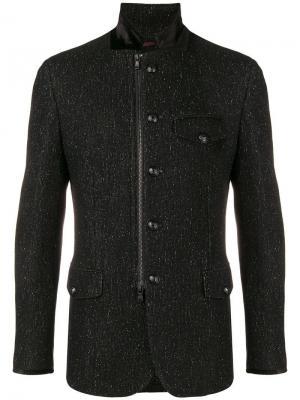 Tailored jacket John Varvatos. Цвет: черный