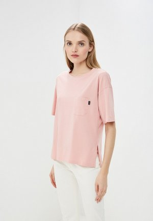 Футболка Woolrich. Цвет: розовый