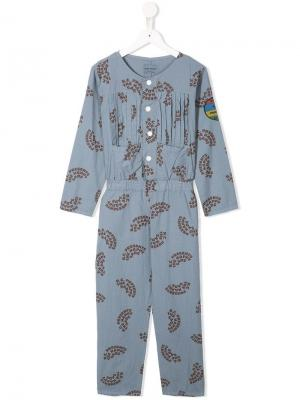 Happy Sad jumpsuit Bobo Choses. Цвет: синий