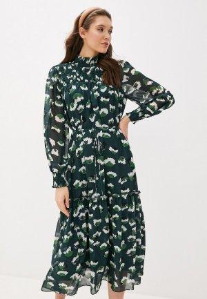 Платье Twist & Tango. Цвет: зеленый