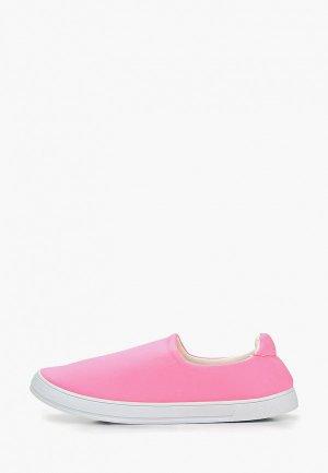 Слипоны Marquiiz. Цвет: розовый
