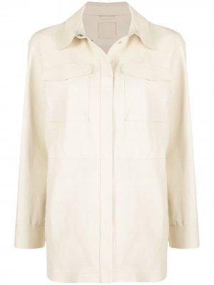 Куртка-рубашка на пуговицах Desa 1972. Цвет: желтый
