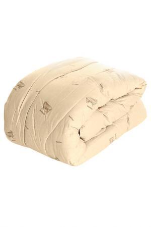 Одеяло зимнее 200х220 см BegAl. Цвет: бежевый