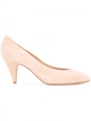 Туфли с миндалевидным носком Mansur Gavriel. Цвет: нейтральные цвета
