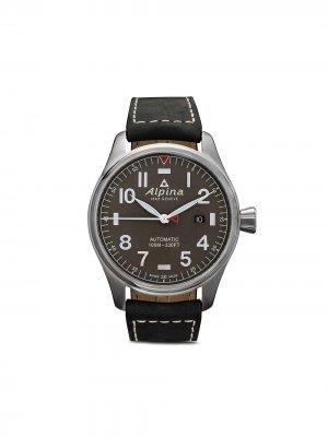 Наручные часы Startimer Pilot Automatic 44 мм Alpina. Цвет: серый