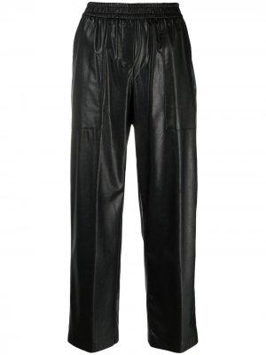 Укороченные брюки прямого кроя Nude. Цвет: черный