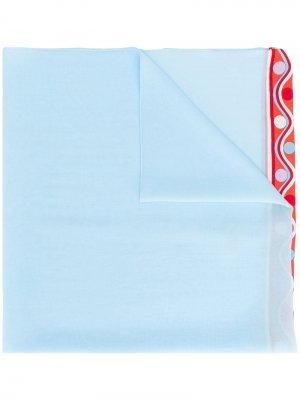 Шарф Badea с принтом Emilio Pucci. Цвет: синий