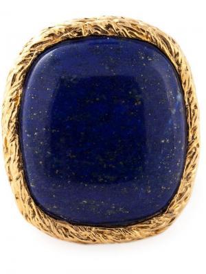 Перстень Miki Dora Aurelie Bidermann. Цвет: синий