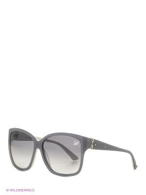 Солнцезащитные очки SK 0057 80В Swarovski. Цвет: серый