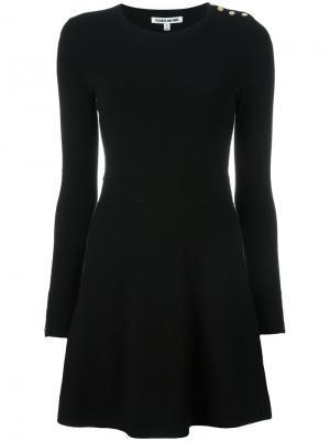 Вязаное платье Elizabeth And James. Цвет: чёрный