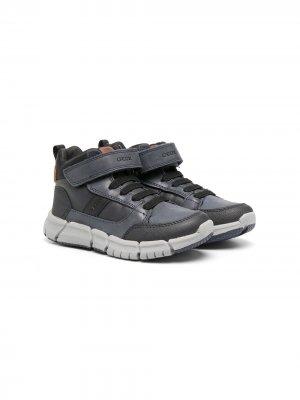 Ботинки Flexyper Geox Kids. Цвет: синий