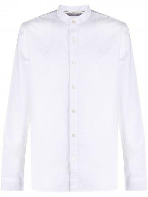 Рубашка с воротником-стойкой Calvin Klein Jeans. Цвет: белый