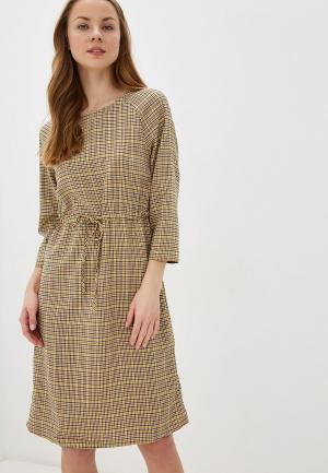 Платье BlendShe. Цвет: бежевый