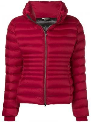 Slim-fit puffer jacket Colmar. Цвет: красный