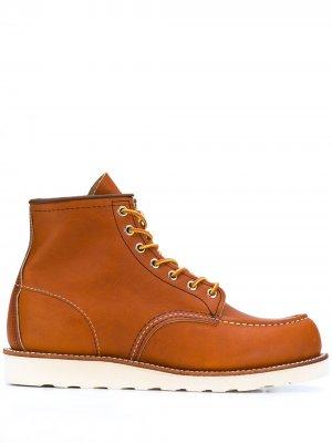 Ботинки Classic Mock на шнуровке Red Wing Shoes. Цвет: коричневый