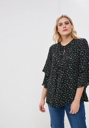 Блуза Gap Maternity. Цвет: черный