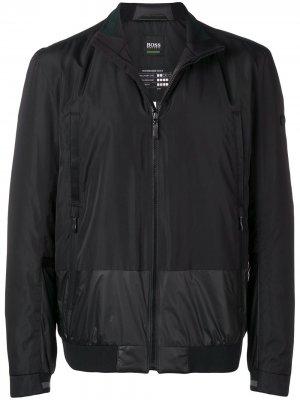 Куртка-бомбер Jonn BOSS. Цвет: черный