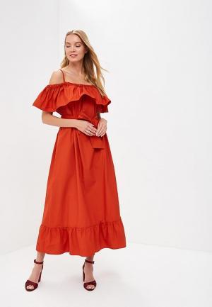 Платье Rinascimento. Цвет: оранжевый