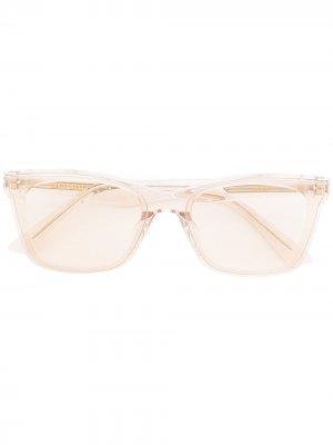 Солнцезащитные очки Solbei в оправе кошачий глаз Gentle Monster. Цвет: розовый