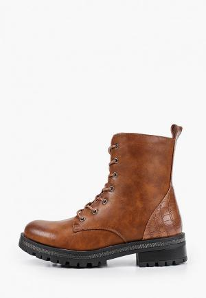 Ботинки Ideal Shoes. Цвет: коричневый