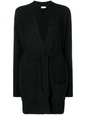 Midi cardigan Filippa-K. Цвет: черный