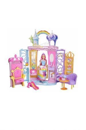 Набор Барби (Радужный дворец) Barbie. Цвет: бордовый