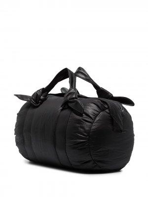 Спортивная сумка из коллаборации с New Balance STAUD. Цвет: черный