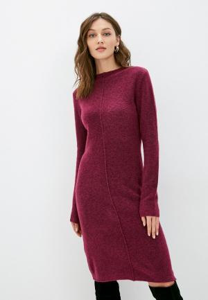Платье Silvian Heach. Цвет: бордовый
