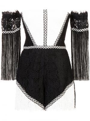 Short off-shoulder dress Alexis. Цвет: чёрный