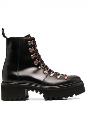 Ботинки на шнуровке Grenson. Цвет: черный