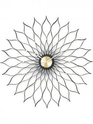Настенные часы Sunflower Vitra. Цвет: черный