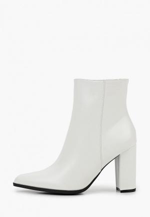 Ботильоны Ideal Shoes. Цвет: белый
